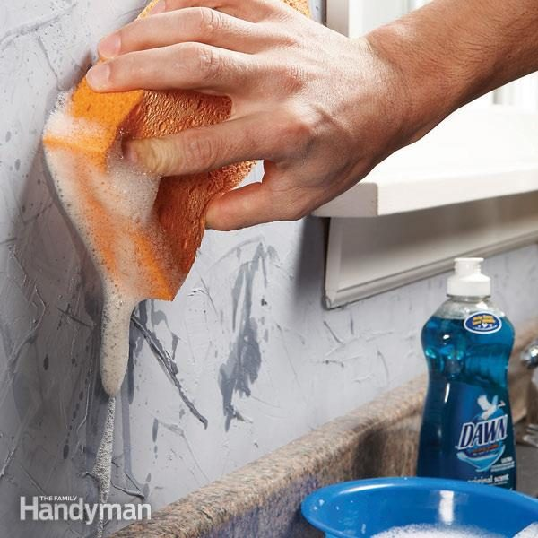 Remove Oil Stains From A Faux Plaster Finish The Family