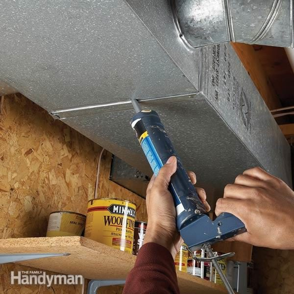 Plug Leaky Ducts The Family Handyman