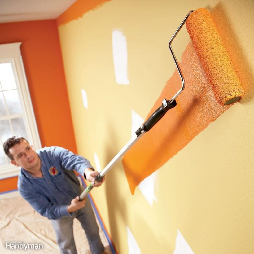 how to clean a ceiling before painting