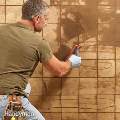 How to Grout Tile  Grouting Tips and Techniques   The Family Handyman Finish your new tile project with a professional quality grout job