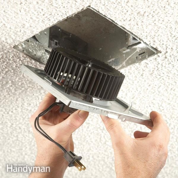 how to install an exhaust fan diy