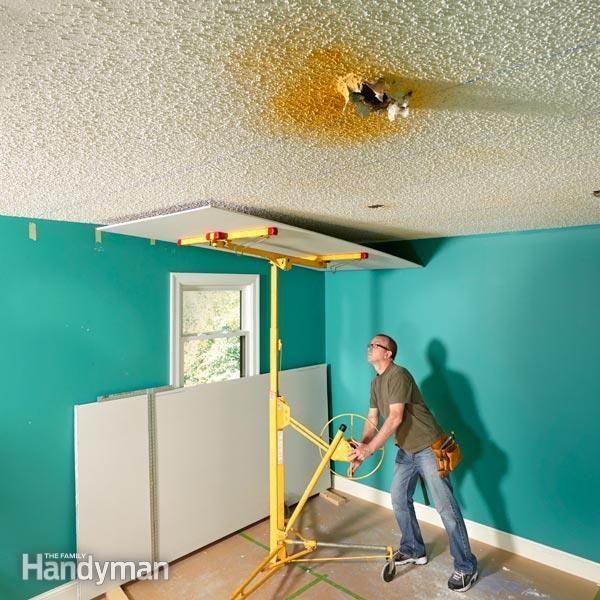 why remove popcorn ceiling when you can