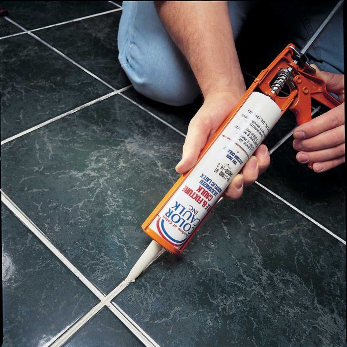 how to repair grout that s cracking