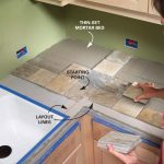 Installing Tile Countertops Ceramic Tile Kitchen Countertops Diy