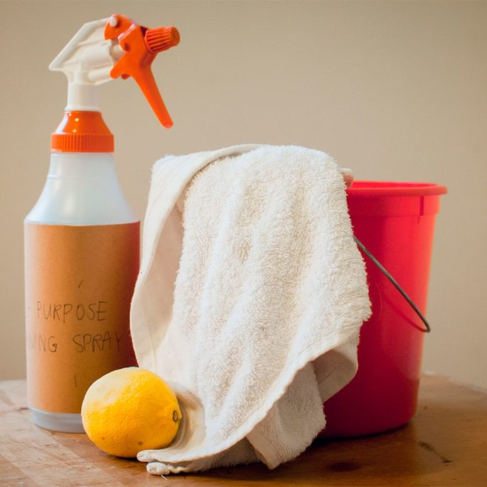Homemade All-Purpose Cleaner homemade cleaning solution