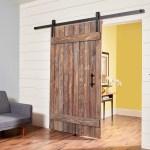How To Build A Simple Rustic Barn Door Diy Family Handyman