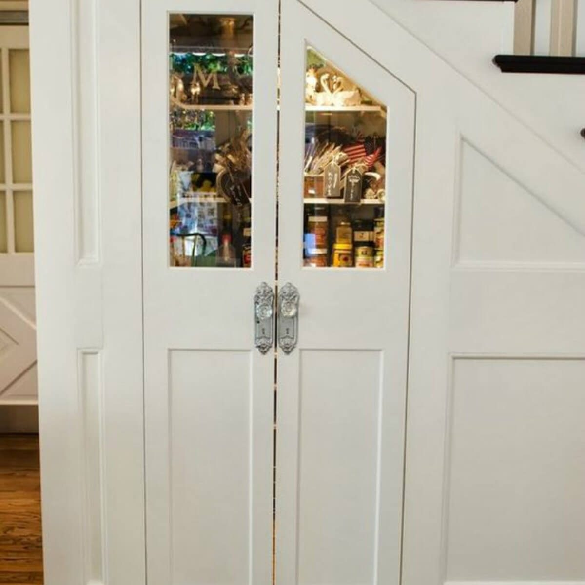 10 Genius Ideas For Building A Pantry — The Family Handyman | Wardrobe Design Under Stairs | Hallway Storage | Basement Stairs | Stair Case | Living Room | Shoe