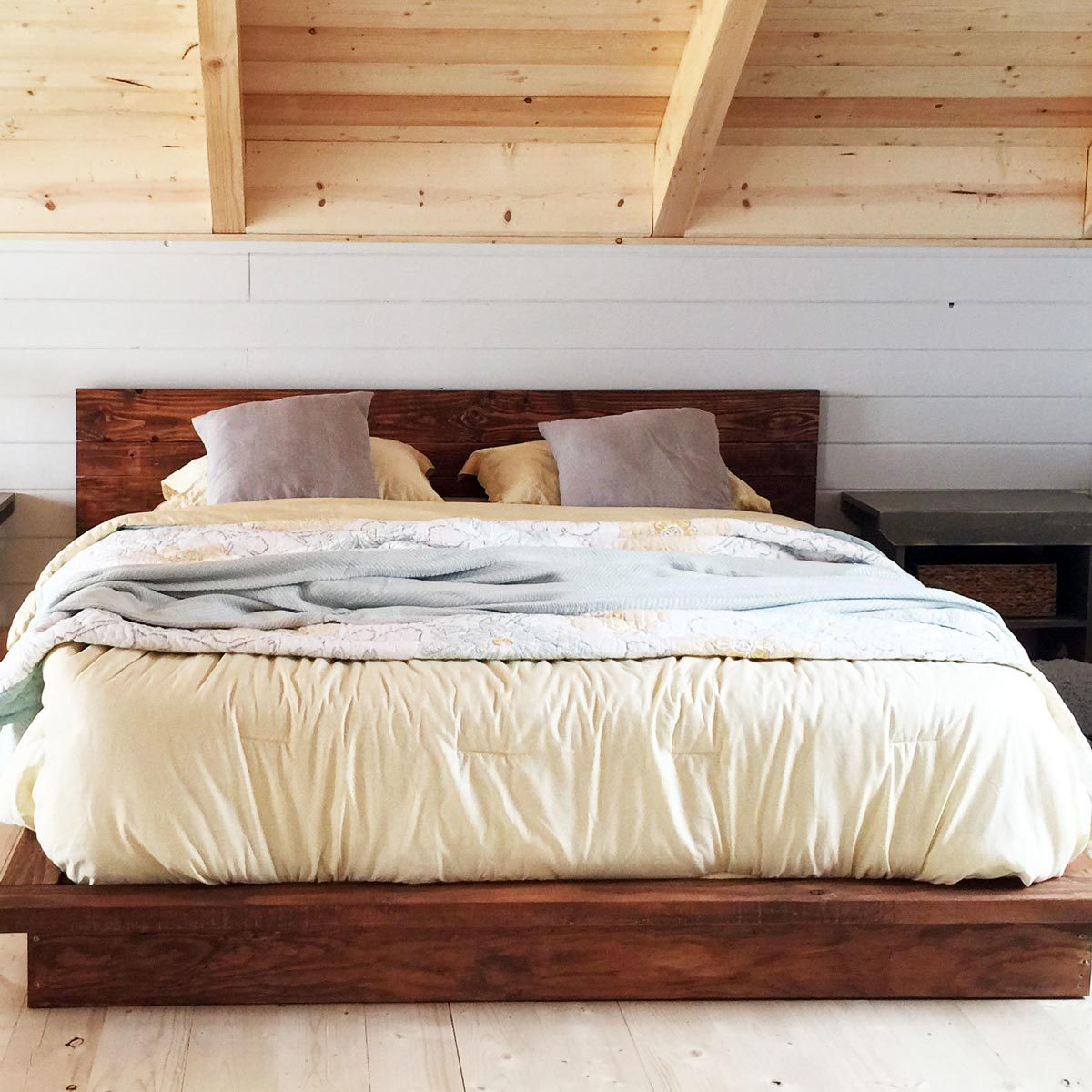 10 Awesome Diy Platform Bed Designs The Family Handyman