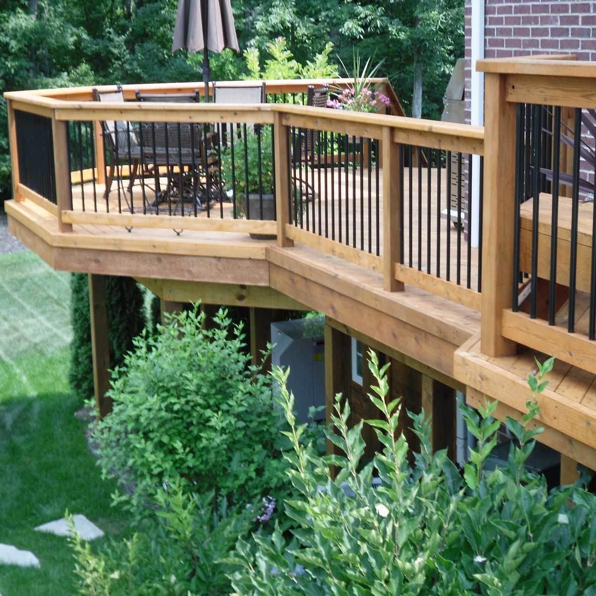 10 inspiring deck designs big small