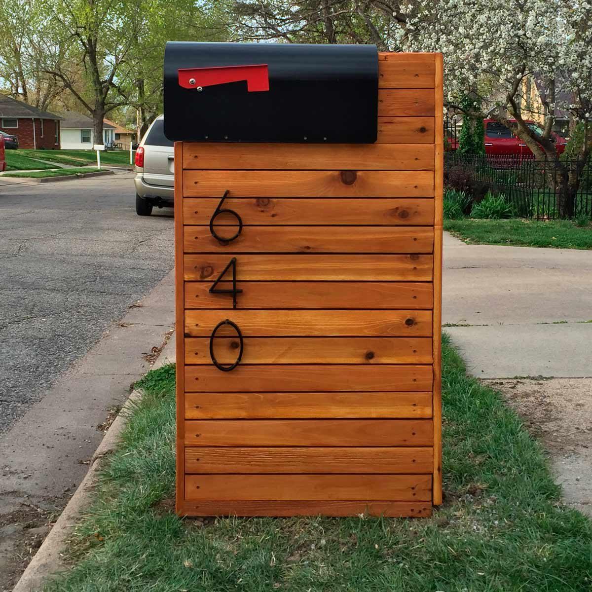 Reader Project Diy Solid Cedar Mailbox