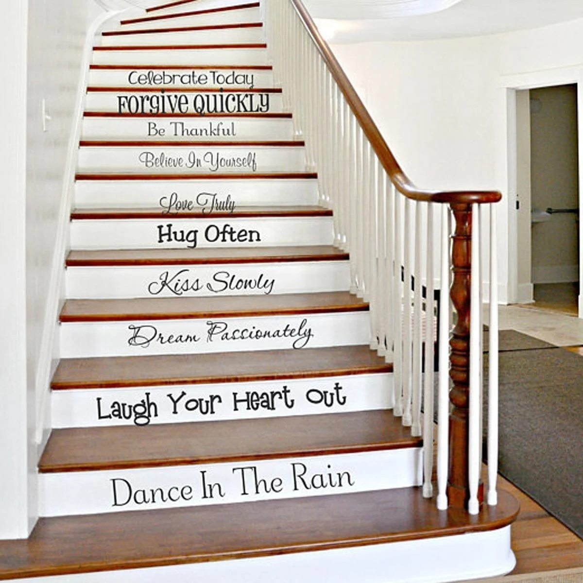 12 Inspired Ways To Embellish Stair Risers Family Handyman | Tread Riser Staircase Design | Effective | Contemporary | Cad Detail | Folded Plate | Angled