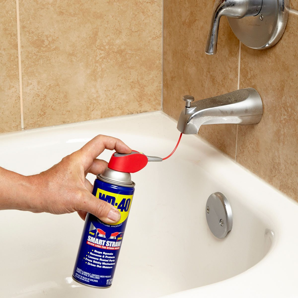 Diverter Lube Bathroom Tip From The Family Handyman
