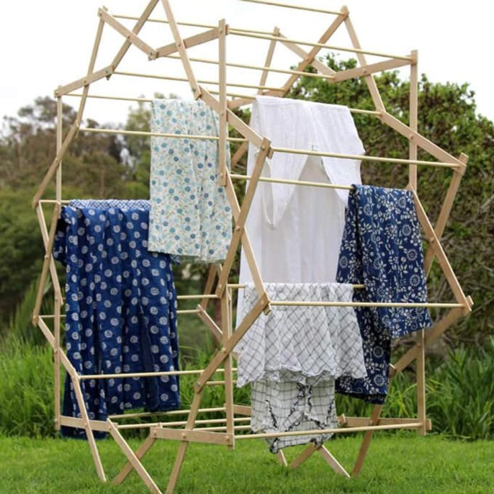 how to dry clothes without a dryer