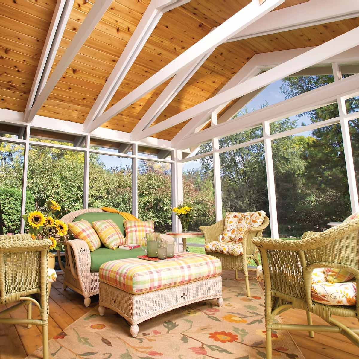 how to build a screen porch screen