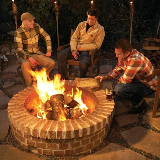 how to build a diy fire pit family