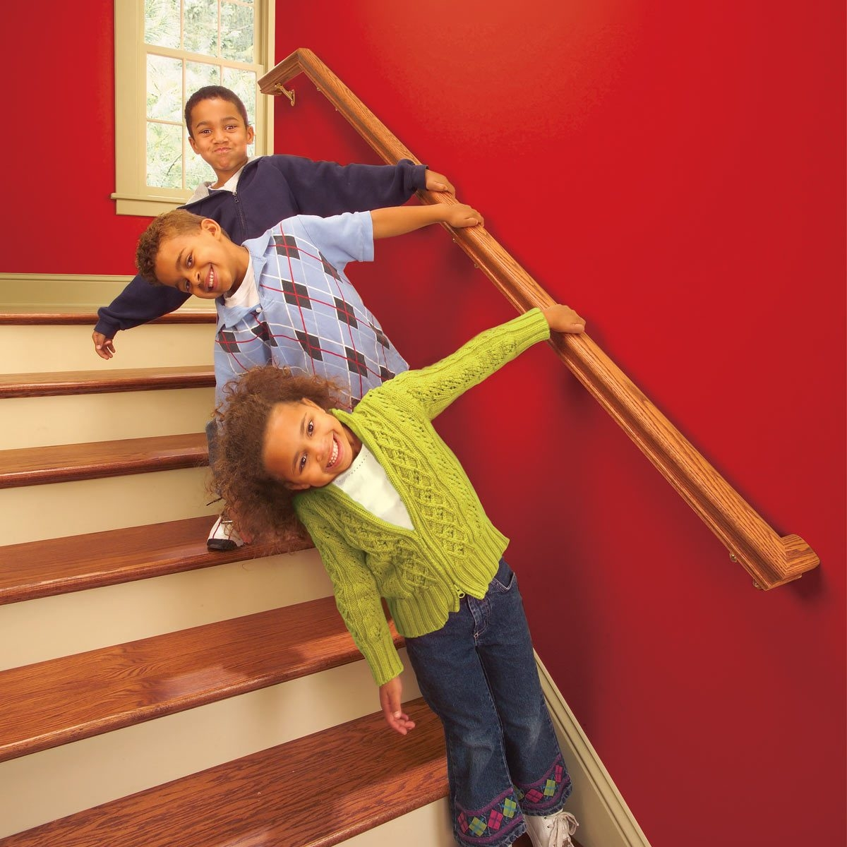 Install A New Stair Handrail | Attaching Handrail To Wall | Stair Parts | Brick | Wood | Staircase | Scr*W