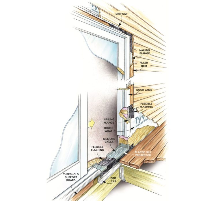 how to replace a patio door diy