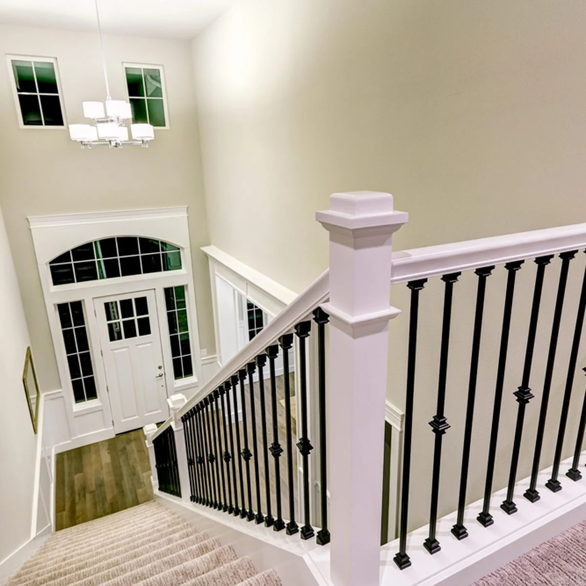 10 Ways To Freshen Up Outdated Banisters Family Handyman | Replacing Wood Spindles With Metal | Stair Spindles | Iron Stair Balusters | Stair Parts | Stair Railing | Staircase