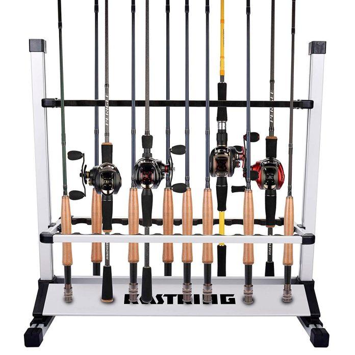 fishing pole storage racks on amazon