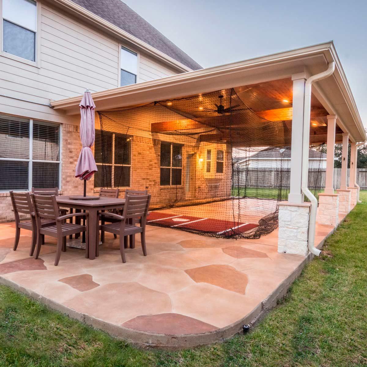 12 stamped concrete patio ideas we love