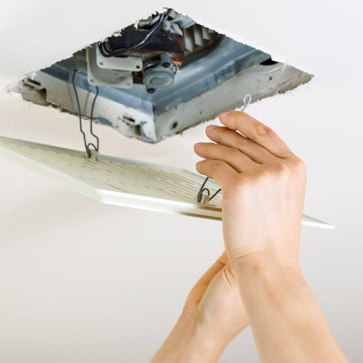 How To Clean A Bathroom Exhaust Fan Family Handyman