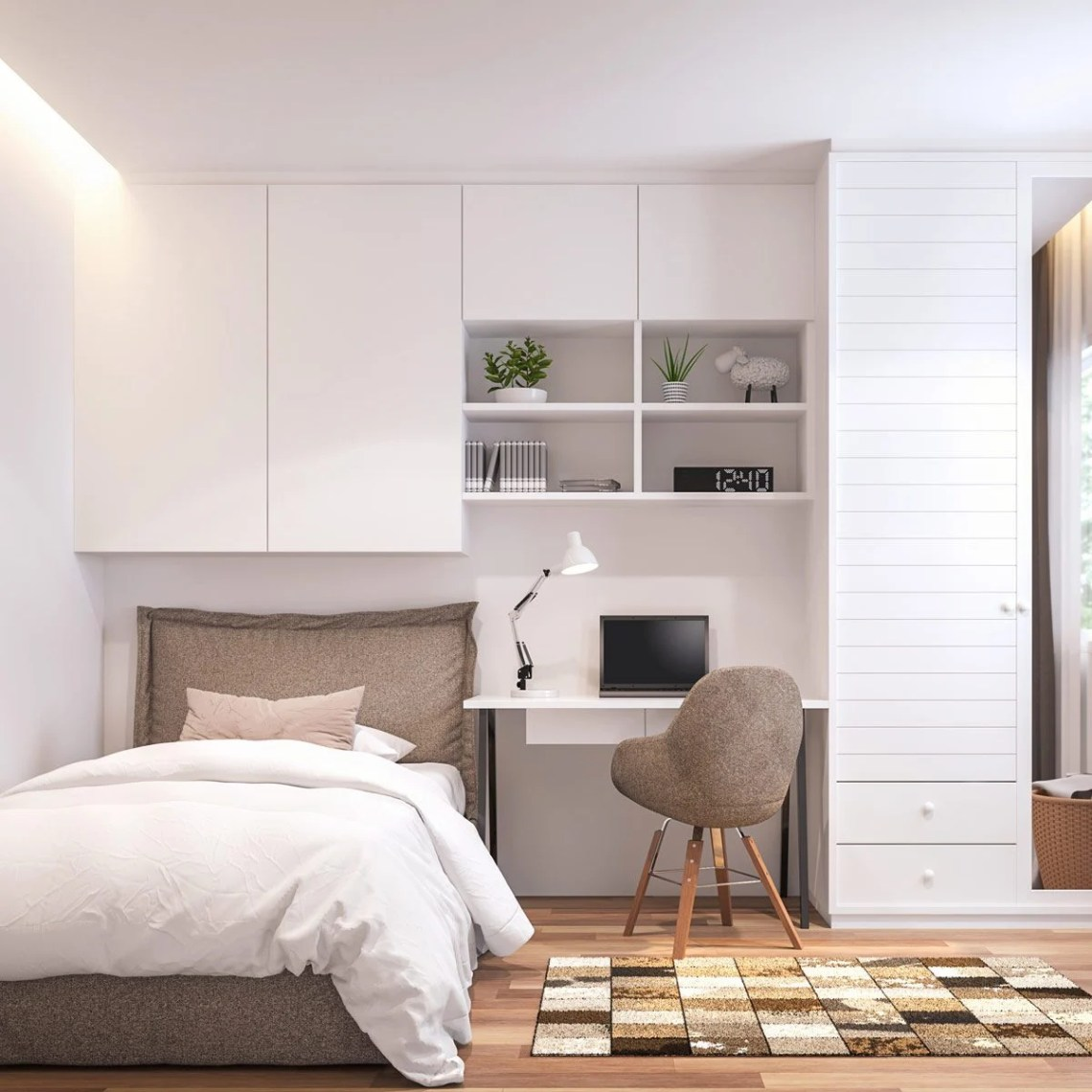 How to Organize a Small Bedroom to Maximize Space | Family ...
