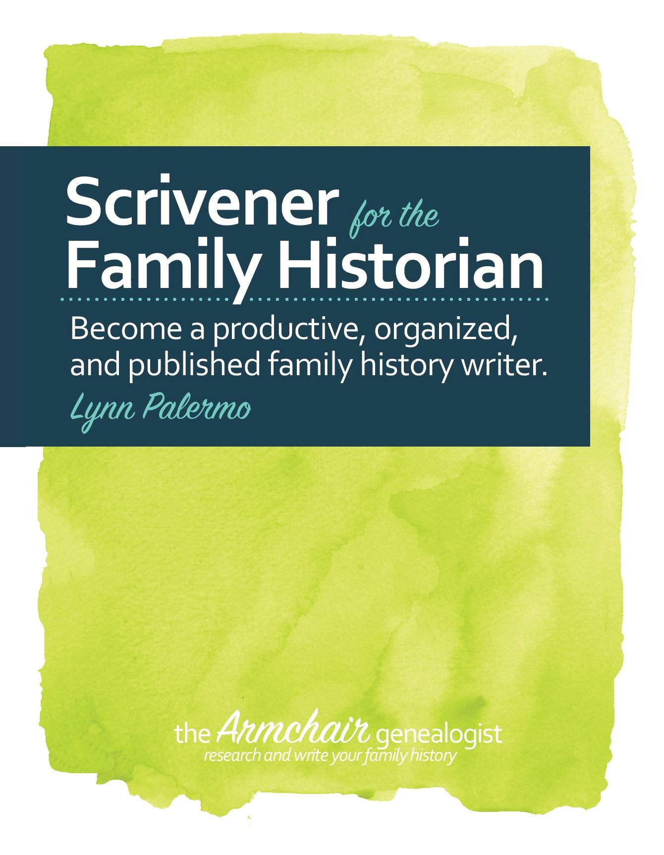 Scrivener The Family History Writing Studio