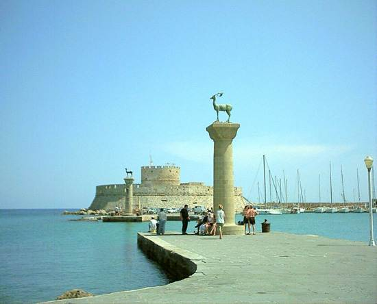 Wonders Of The Ancient World Colossus Of Rhodes Family