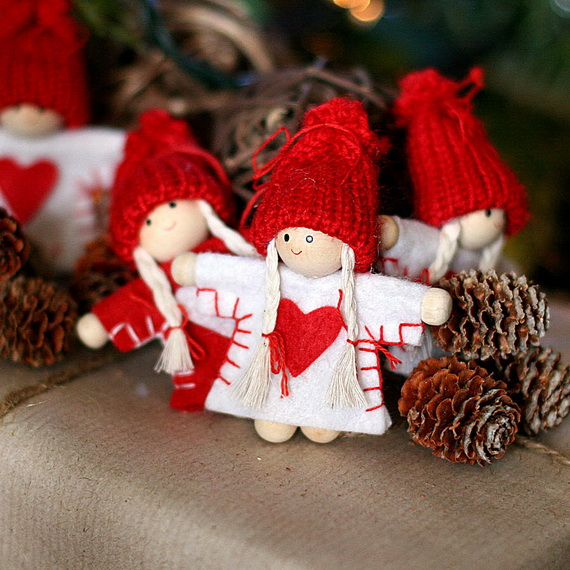 Cute And Quirky Homemade Christmas Ornaments For Holidays