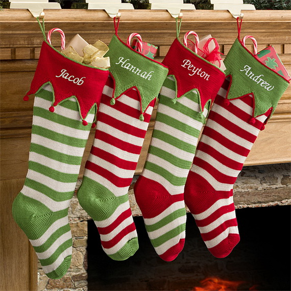 Easy Holiday Christmas Stocking Crafts Family Holiday