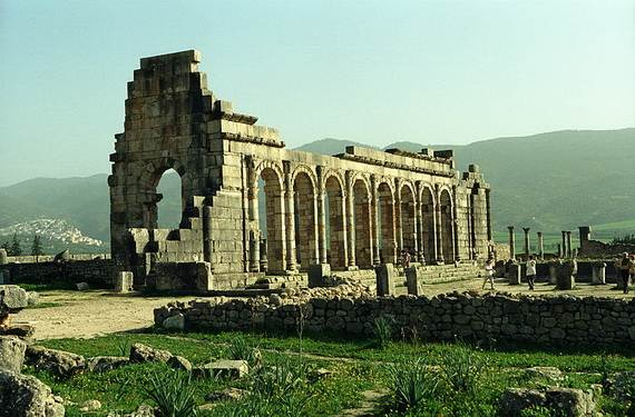 Archaeological Site Of Volubilis Walili Roman Ruins