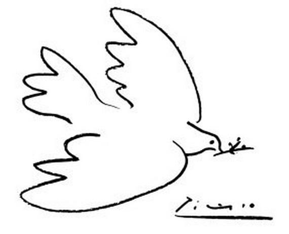 peace dove picasso st