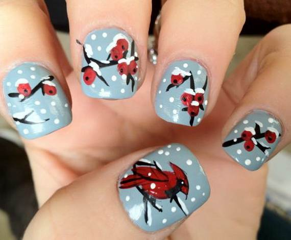 Best Easy Simple Christmas Nail Art Designs Ideas 16