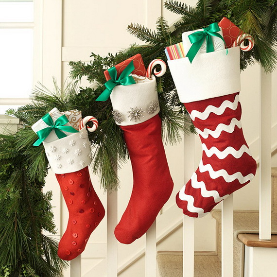 Easy Amp Unique Handmade Christmas Stockings Ideas Family