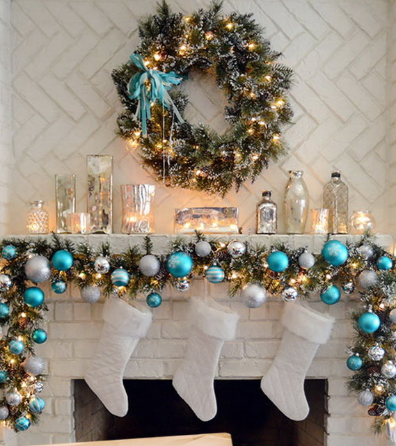 Image Of Christmas Decorating Ideas For Mantels
