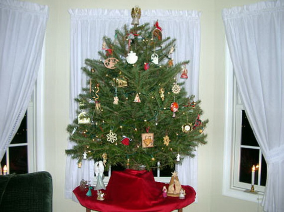 Miniature Tabletop Christmas Tree Decorating Ideas Family Holiday Net Guide To Family Holidays On The Internet