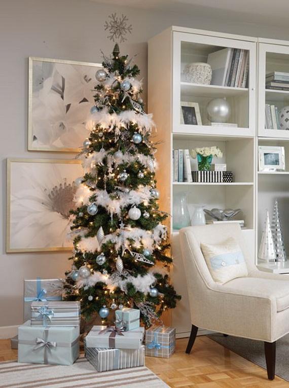 White Christmas Decorating Ideas Family