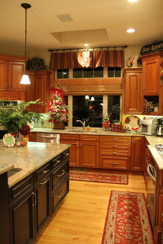 Unique Kitchen Decorating Ideas For Christmas Family Guide To Family Holidays On