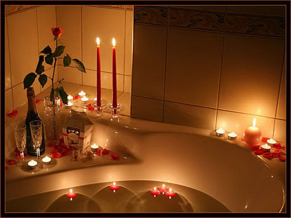 Great Sexy Valentines Day Bathroom Decorating Ideas