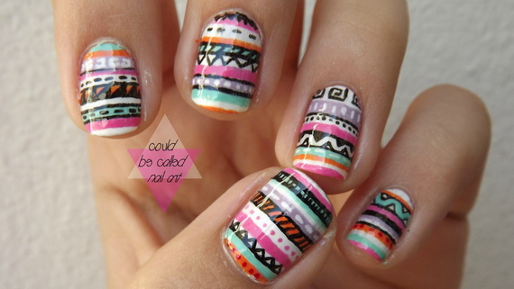 Adorable Easter Egg Nail Art Ideas 39