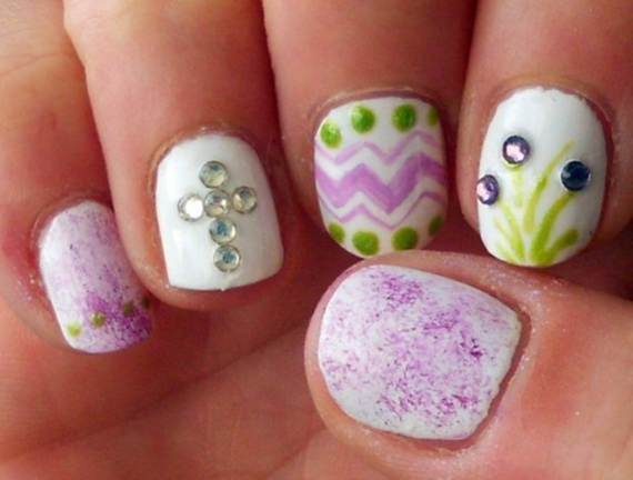 Adorable Spring Easter Nail Art Ideas 53