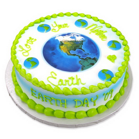 Coolest Earth Day Cake Decorating Ideas Family Holiday