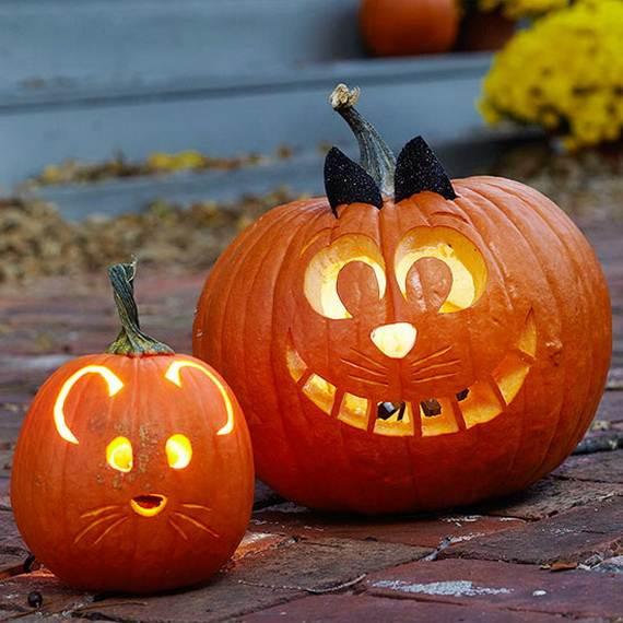 Cool Easy Pumpkin Carving Ideas _14