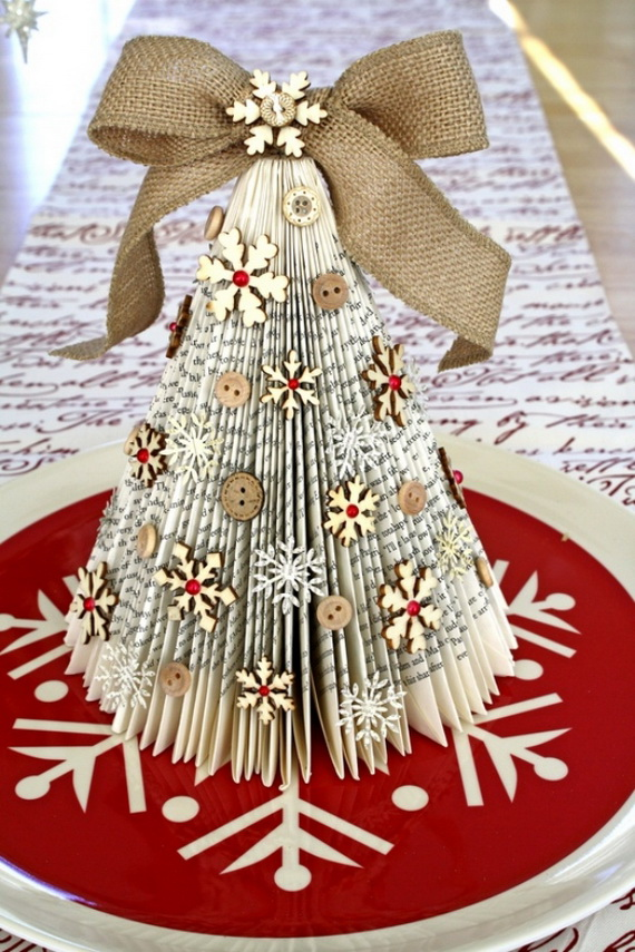 Pretty Paper Christmas Craft Amp Decoration Ideas Family Guide To Family Holidays On