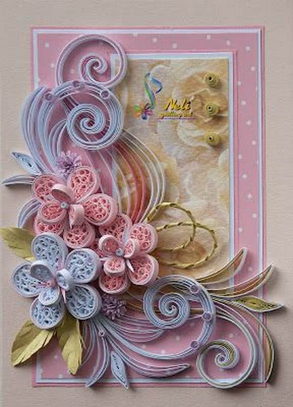Quilled Valentines Day Craft Projects And Ideas Family