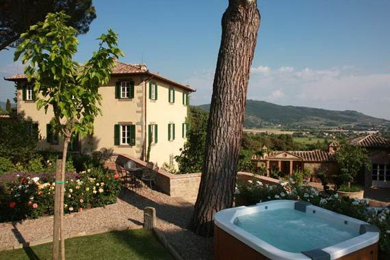 Villa Laura Bramasole In Under The Tuscan Sun Italy