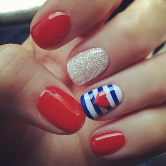 Amazing Patriotic Nail Art Designs Ideas 02