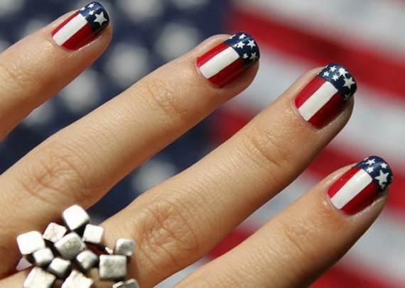 Amazing Patriotic Nail Art Designs Ideas 16