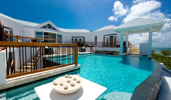 Mothers House Modern Holiday Ocean Villa In Grand Turk