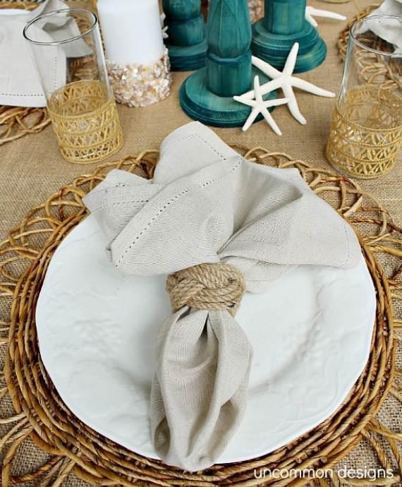 27 Inspiring Coastal Thanksgiving Table Setting And